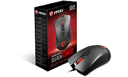 MSI Clutch GM10 Optical Black