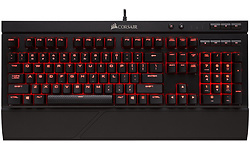 Corsair Gaming K68 Red LED Cherry MX Red USB Black (DE)