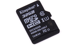 Kingston Canvas Select MicroSDHC UHS-I 32GB
