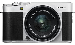 Fujifilm X-A5 15-45 kit Black/Silver