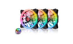 Raijintek Iris 14 Rainbow RGB LED 140mm Black 3pack