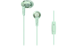 Pioneer SE-C3T-GR In-Ear Aluminium Design Mint Green