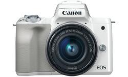 Canon Eos M50 15-45 kit White