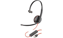 Plantronics Blackwire C3210 USB On-Ear Black