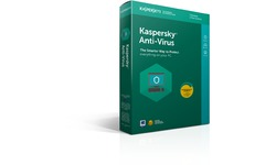Kaspersky Anti-Virus 2018 Slim 3-user 1-Year (NL)
