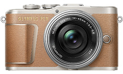 Olympus Pen E-PL9 14-42 kit Silver/Brown