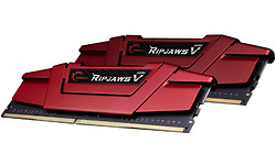 G.Skill Ripjaws V Red 8GB DDR4-2400 CL17 kit
