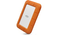 LaCie Mobile Drive Rugged USB-C 5TB Orange