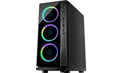 Inter-Tech Case W-III RGB Black