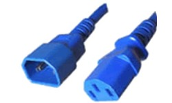 ACT C13 C14, 0.6m Blue