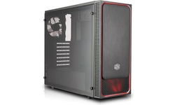 Cooler Master MasterBox E500L Window Black/Red