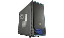 Cooler Master MasterBox E500L Window Black/Blue