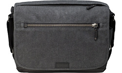 Tenba Cooper 13 DSLR Camera Bag Grey Canvas/Black Leather