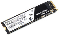 Western Digital Black 2018 NVMe 500GB