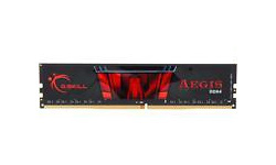 G.Skill Aegis Black/Red 8GB DDR4-2666 CL19 kit
