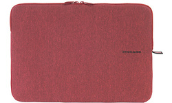 "Tucano Mélange Second Skinen Sleeve 15.6"" Red"