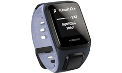 TomTom Runner 2 Cardio Small + Music GPS Sport Watch Sky Captain Blue/Ligt Purple