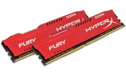Kingston HyperX Fury Red 16GB DDR4-3200 CL18 kit