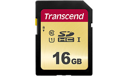 Transcend 500S SDHC UHS-I U1 16GB