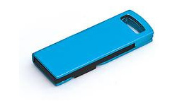 MicroMemory Slide USB2.0 16GB Blue