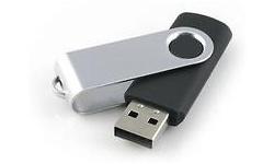 MicroMemory Swivel USB2.0 32GB Black
