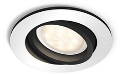 Philips Hue Milliskin Aluminium Round + Switch