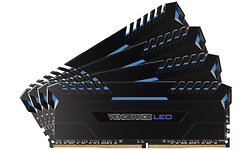Corsair Vengeance Blue LED Black 32GB DDR4-3000 CL16 quad kit