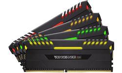 Corsair Vengeance RGB Black 64GB DDR4-3000 CL16-20-20-38 quad kit