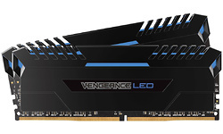 Corsair Vengeance Blue LED Black 32GB DDR4-3000 CL16-20-20-38 kit