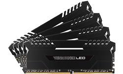 Corsair Vengeance White LED Black 32GB DDR4-3000 CL16 quad kit