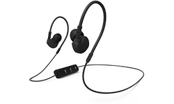 Hama Clip-On sport Earphones Run BT Black