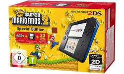 Nintendo 2DS Black/Blue + New Super Mario Bros. 2