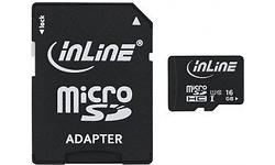 InLine MicroSDHC UHS-I 16GB + Adapter
