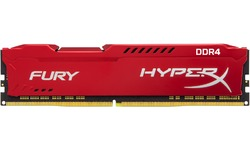 Kingston HyperX Fury Red 16GB DDR4-3200 CL18