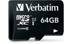 Verbatim Tablet U1 MicroSDXC UHS-I 64GB + Reader