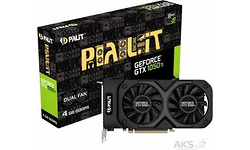 Palit GeForce GTX 1050 Ti Dual 4GB