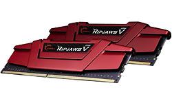 G.Skill Ripjaws V Red 16GB DDR4-2666 CL19 kit