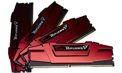 G.Skill Ripjaws V Red 32GB DDR4-2666 CL19 quad kit