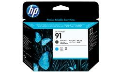 HP 91 Matt Black/Cyan