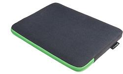 Gecko Zipper Sleeve Laptop 17' Grey/Green
