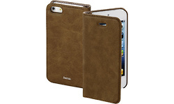Hama Guard booklet Case iPhone 5 / 5s / se Brown
