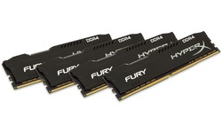 Kingston HyperX Fury Black 32GB DDR4-2933 CL17 quad kit