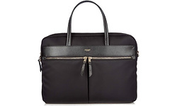 "Knomo Hanover Slim Briefcase 14"" Black"