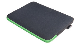 "Gecko Zipper Sleeve Laptop 13"" Grey/Green"