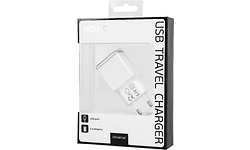 Xqisit Travel Charger USB 2.4Ah White