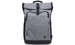 """Acer Predator Rolltop Jr. 15.6"""" Backpack Black/Grey"""