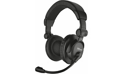 Trust Como Headset for PC Black