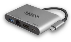 Eminent AB7872 Docking USB Type C HDMI/Ethernet
