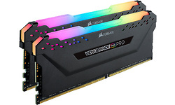 Corsair Vengeance RGB Pro Black 16GB DDR4-2666 CL16 kit