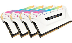 Corsair Vengeance RGB Pro White 32GB DDR4-3000 CL15 quad kit
